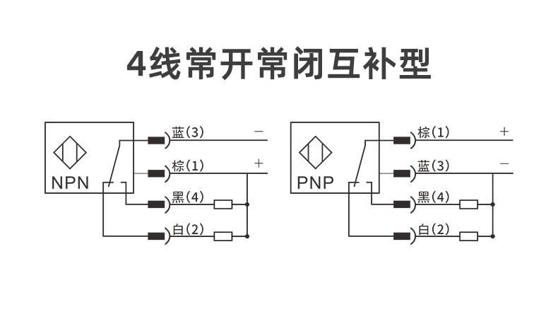 KS-C22 色标传感器,常开常闭互补型输出-接线图