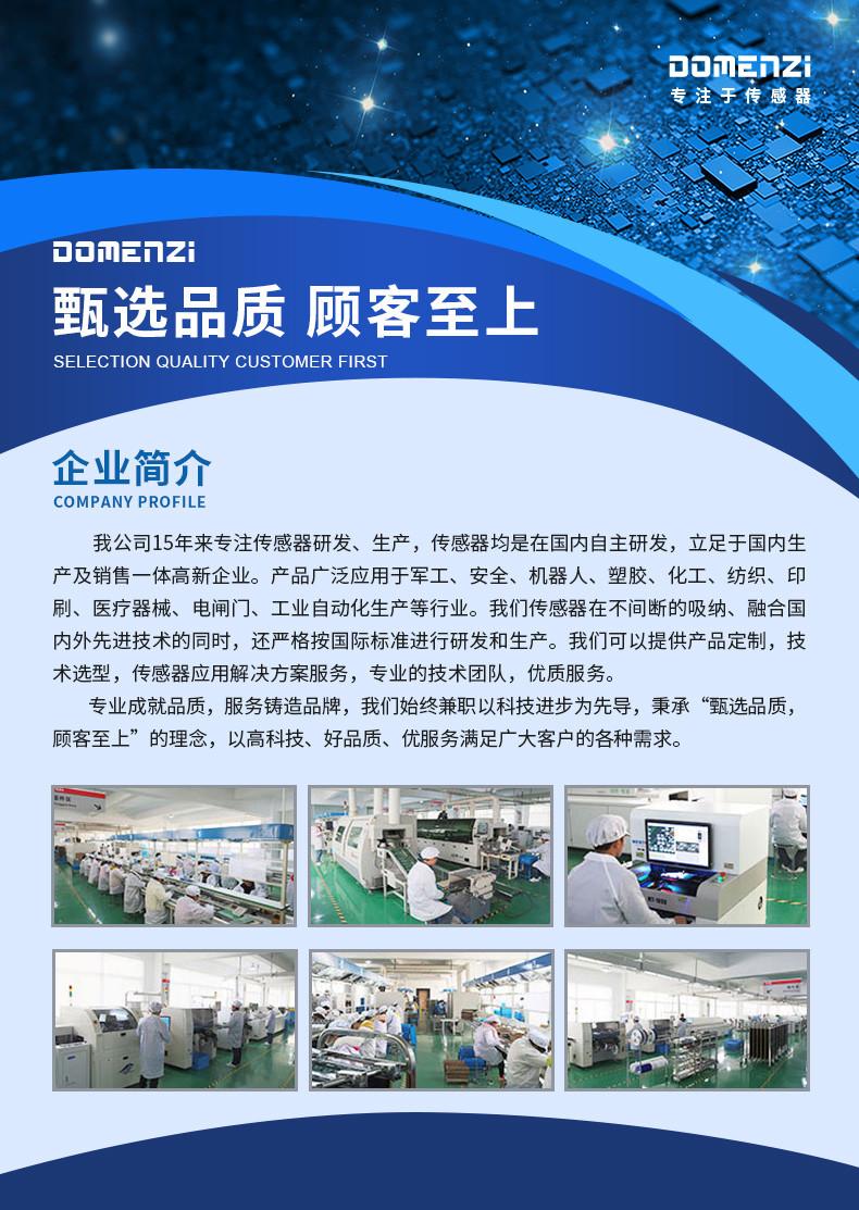 DOMENZI(东门子) 传感器官网 正式上线