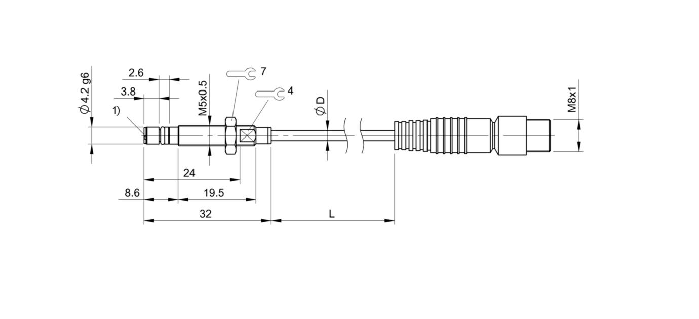 BHS G409N-PSD10-EP00,3-GS49 (BHS007J) 耐高压接近开关-尺寸图